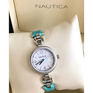 Nautica green watch